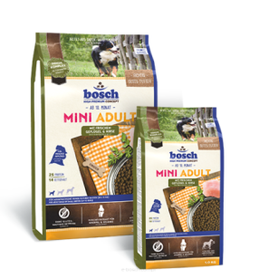 Bosch Mini Adult with fresh Poultry & Millet (świeży drób i proso) - 3 kg